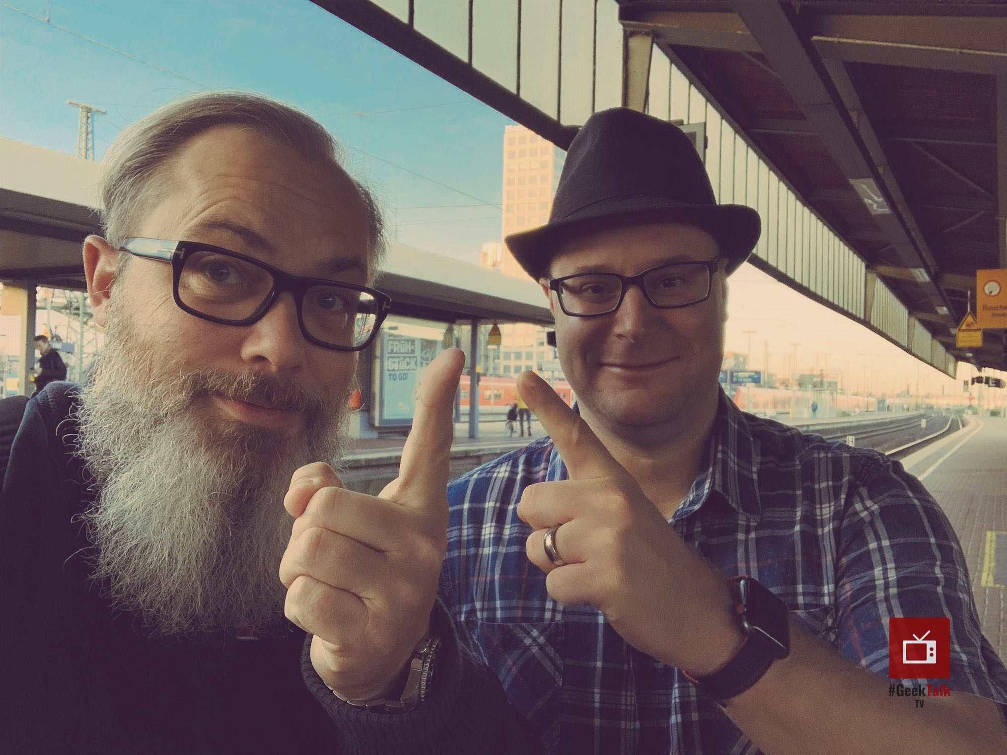 GeekTalk TV - Achim Hepp und Martin Rechsteiner