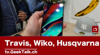 Travis – Wiko – Husqvarna am #MWC19 in Barcelona