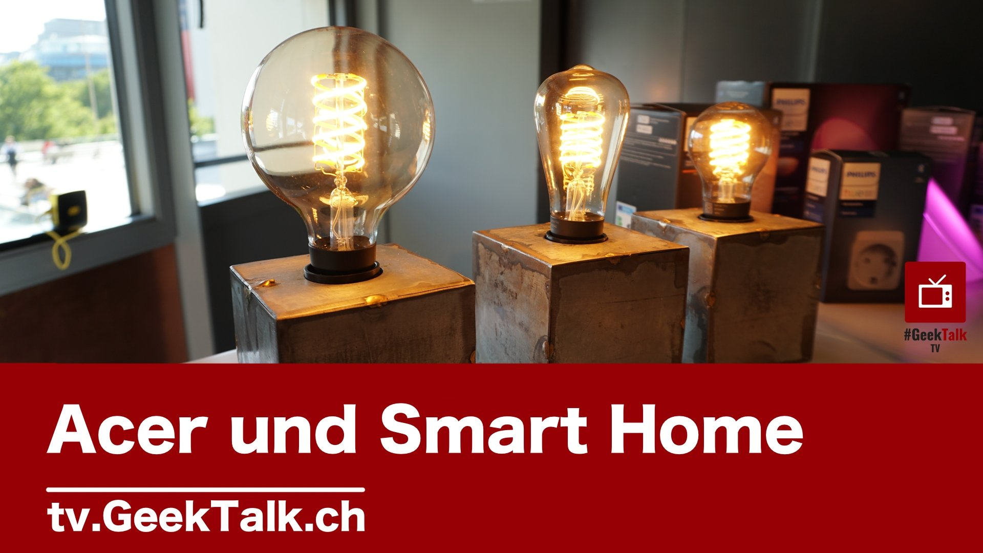 Tag 1 #IFA2019: Video zur Acer Pressekonferenz und Smart Home Gadgets