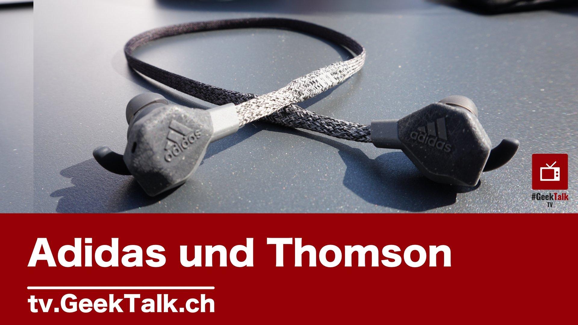 IFA 2019: Sportausrüster Adidas mit Kopfhörer und Gadgets von Thomson