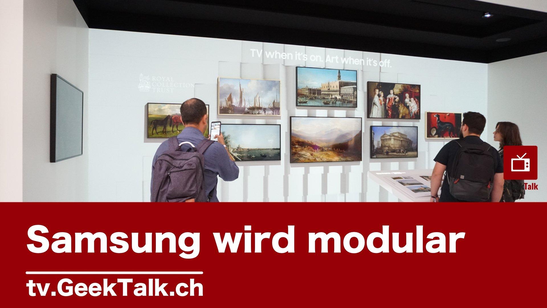 Samsung wird modular – IFA 2019